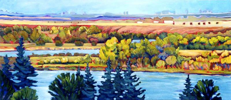 Riverbend - South Saskatcewan River, Saskatoon, Saskatchewan