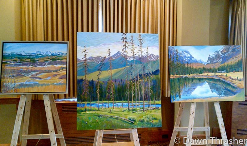 Dawn Thrasher Landscape Paintings