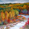 Dawn Thrasher - Riverbend-in-october